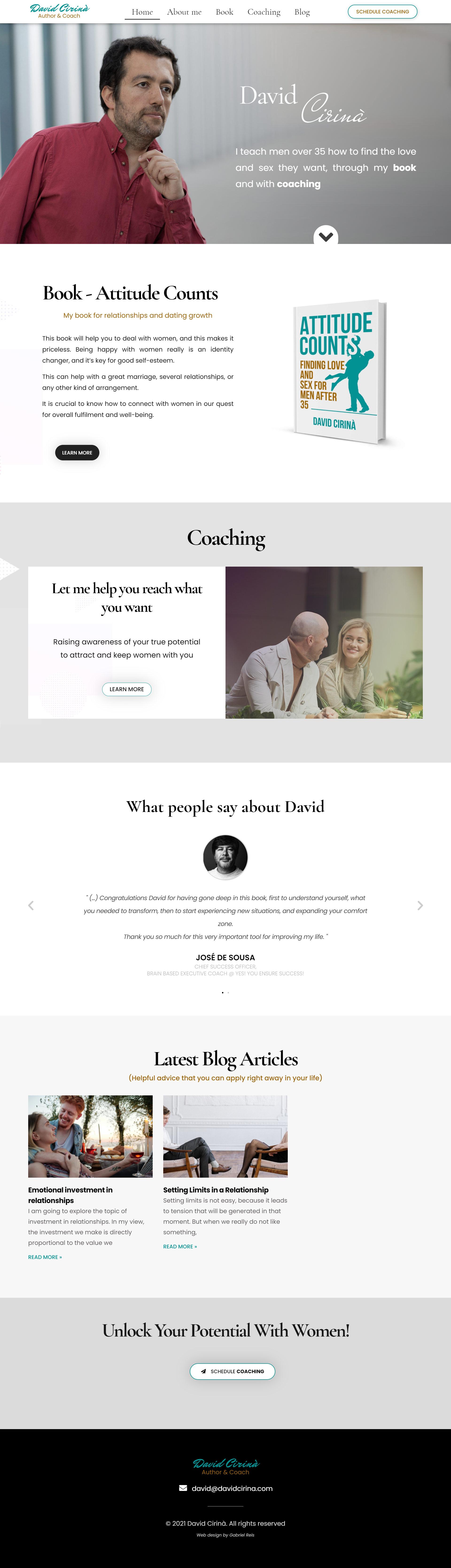 Web Design Coach Author David Cirina